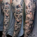 Skulls Tattoo Sleeve