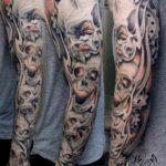 Skulls Tattoo Sleeve