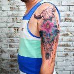 Skulls Zen Tattoo