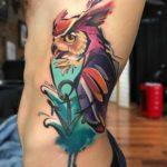 Unique Owl Tattoos