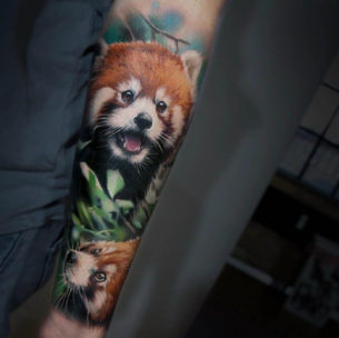 Baby Firefox Tattoo