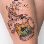 Beer Voyage Tattoo