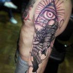 Deadspace Illuminati Tattoo