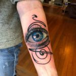 Eye Tattoo on Forearm