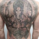 Ganesha Tattoo Back