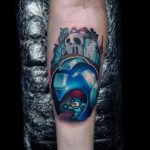 Megaman Tattoo on Arm