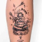 Music Lover Tattoo