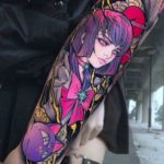 Sailor Saturn Tattoo