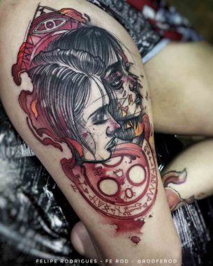 Silent Hill Tattoo Heather