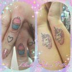 Small Cute Couple Tattoos