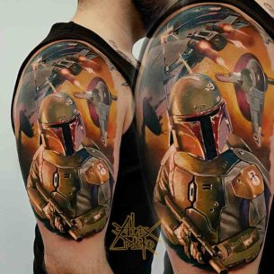 Star Wars Tattoo Battle