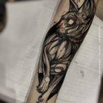 The Black Cat Tattoo