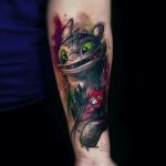 Toothless Tattoo