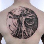 Vetruvian Darth Vader Tattoo
