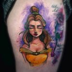 Watercolor Belle Tattoo