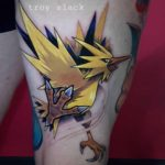 Zapdos Tattoo Pokemon
