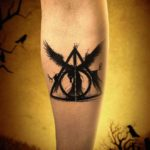 Arm Tattoo Deathly Hallows