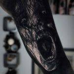 Evil Spirit Tattoo