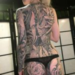 Full Back Tattoo for Girl