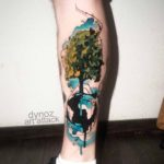 Global Tree Tattoo