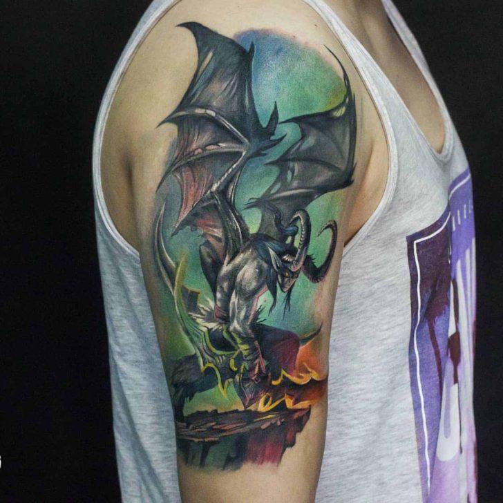 world of warcraft tattoo illdan
