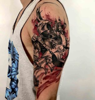 League of Legends Tattoo Jhin