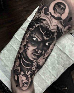 Muse Tattoo Sleeve