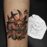 Naruto Cat Tattoo