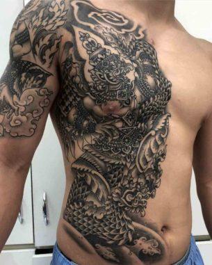 Phra Khrut Pha vs Payanak Tattoo