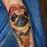 Pug Life Tattoo