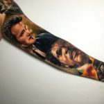 Pulp Fiction Tattoo Sleeve