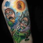 Rick and Morty Tattoo Tribute