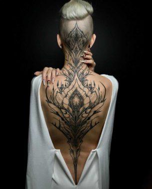 Ritual of Life Tattoo on Back