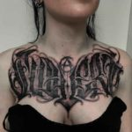 Subvert Tattoo on Chest