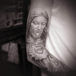 Tattoo of Jesus
