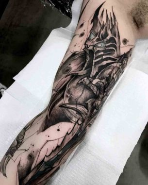 The Lich King Tattoo