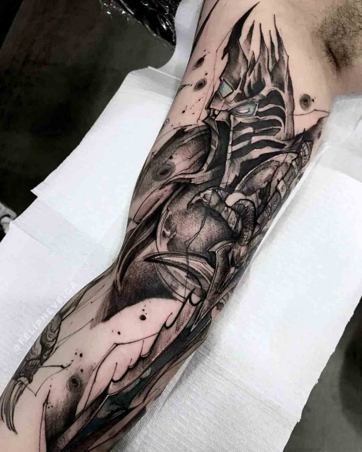 world of warcraft tattoo the loch king