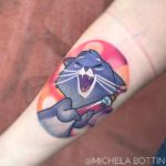 Yzma Tattoo Cat