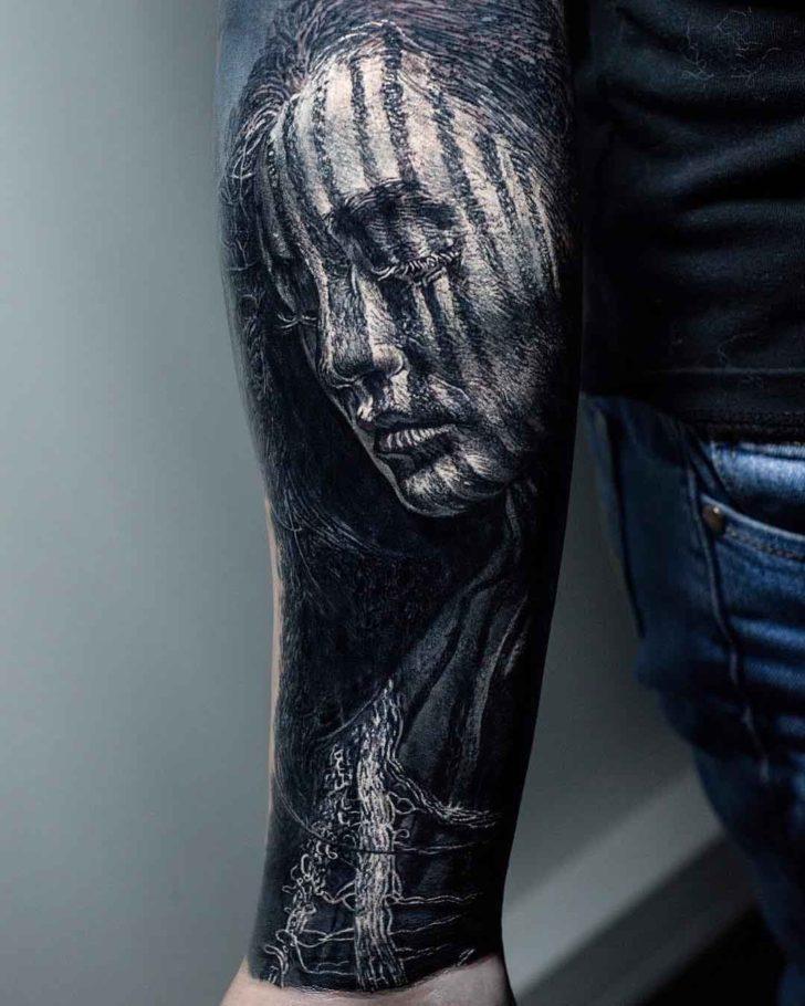 arm tattoo sleeve smugglers