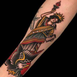 American Old School Tattoo