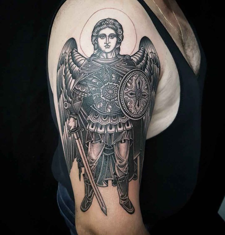 Canonic St. Micahel Tattoo