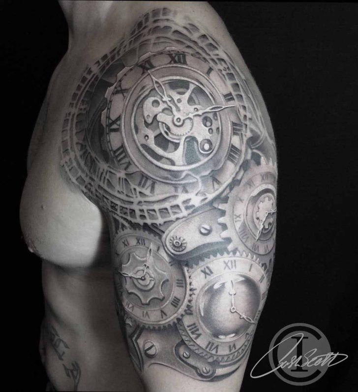 Clockwork Mechanic Tattoo