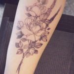 Dotwork Roses Tattoo