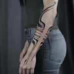 Elegant Blackwork Tattoos