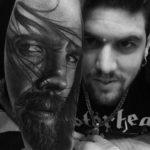 Forearm Portrait Tattoo