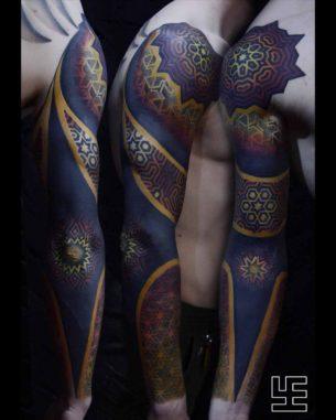 Full Arm Sleeve Tattoos