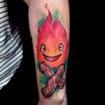 Funny Flame Tattoo
