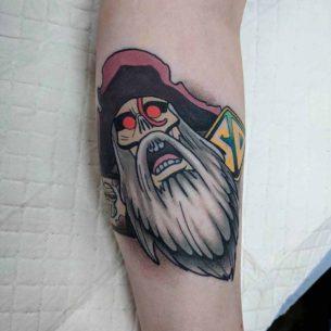 Morgan Moonscar Tattoo Pirate