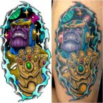 New School Thanos Tattoo