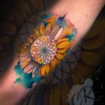 Perfect Flower Tattoo Watercolor